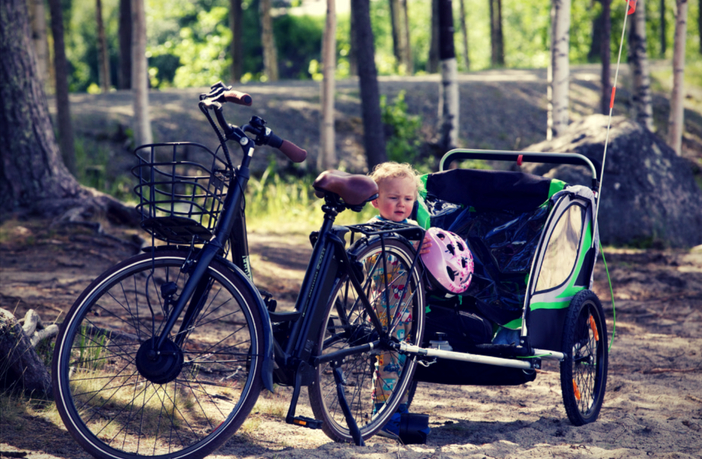 Convert Jogging Stroller to Bike Trailer